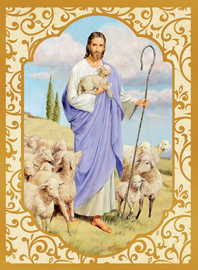 Good Shepherd - Purple