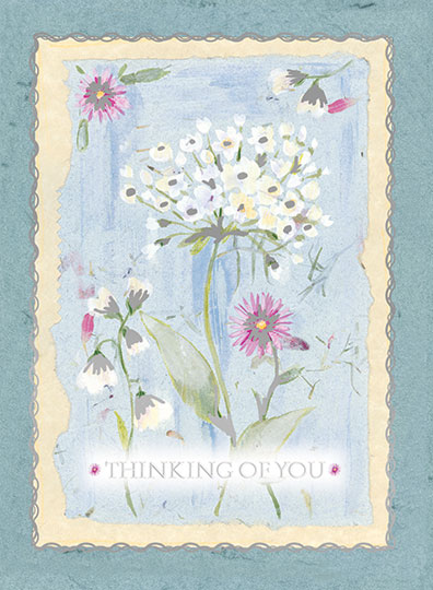 Thinking of You - White Flower