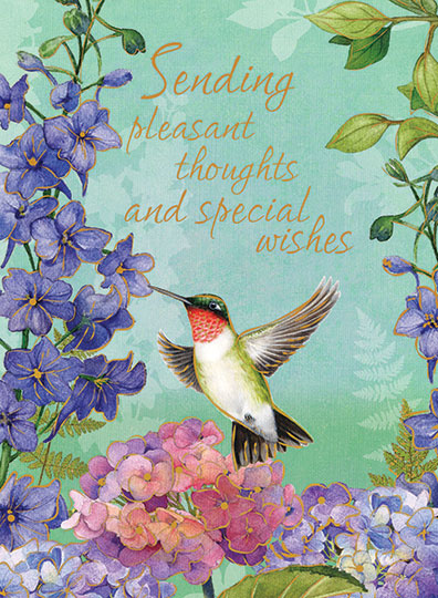 Sending pleasant thoughts - bird