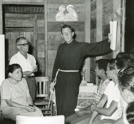 Fr McCreary in Puerto Rico